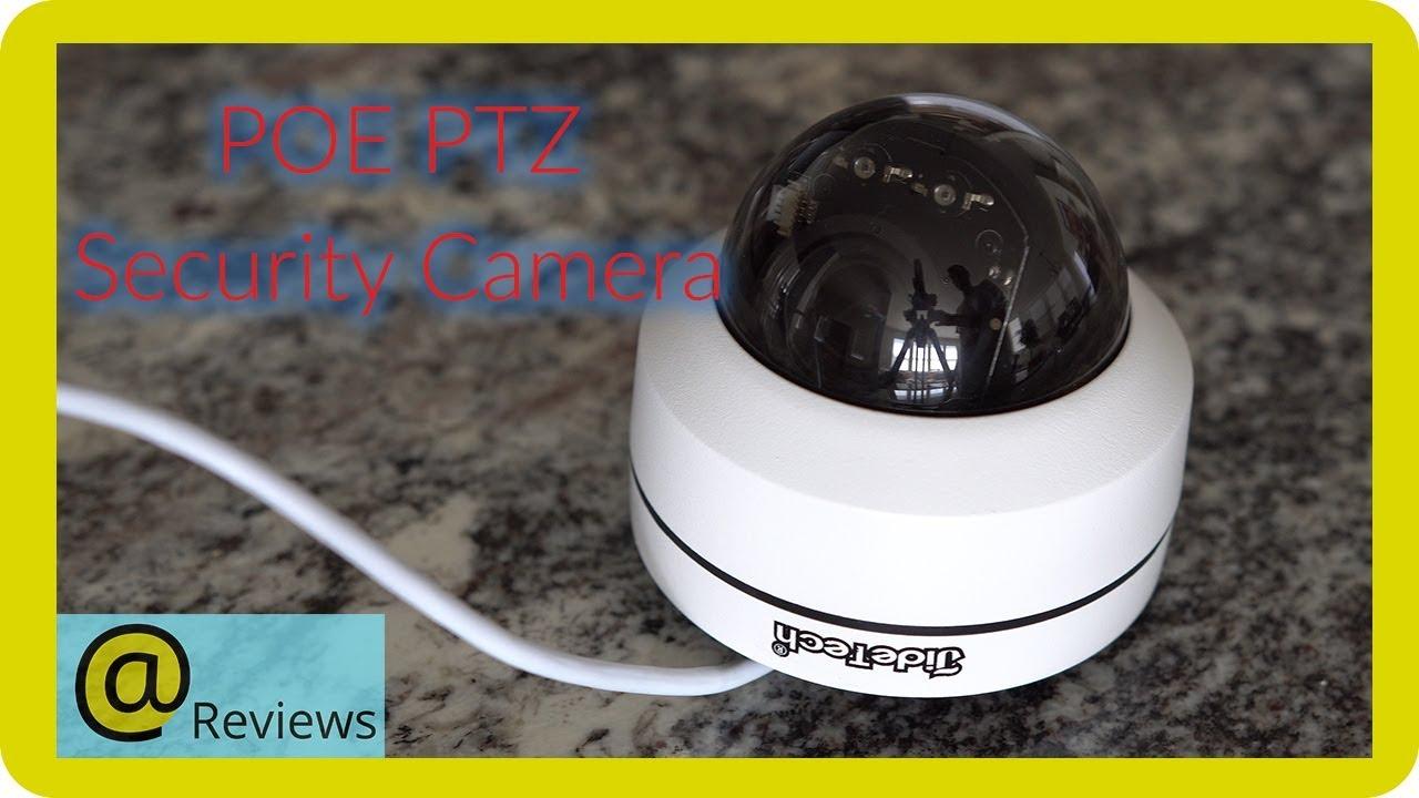 JideTech POE PTZ Camera Review