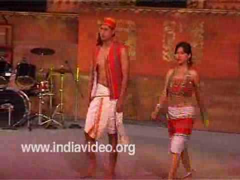 1b7777a2af Traditional dress Costume Tripura India - YouTube