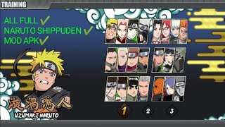Naruto senki MOD Apk download 2020 FULL CHARACTERS | Naruto shippuden | GAMEPLAY