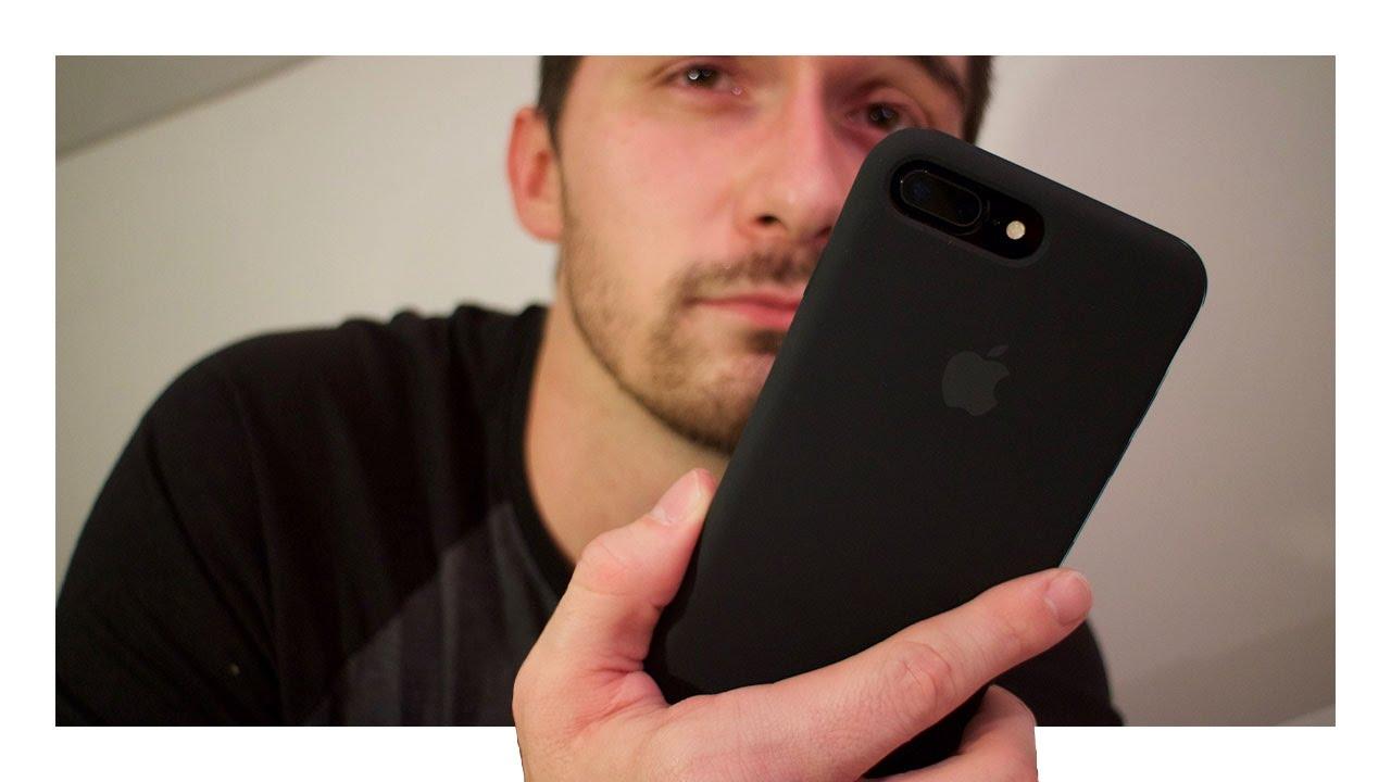 black silicone iphone 7 case