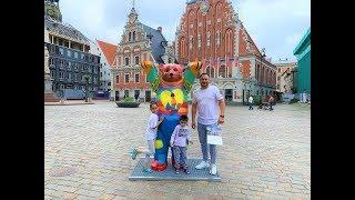 Riga City (Rīga), Latvia - Vlog - 24 Hours Travel Guide!