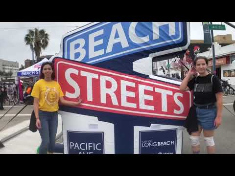 The community rolls out for Beach Streets today on Pacific Avenue