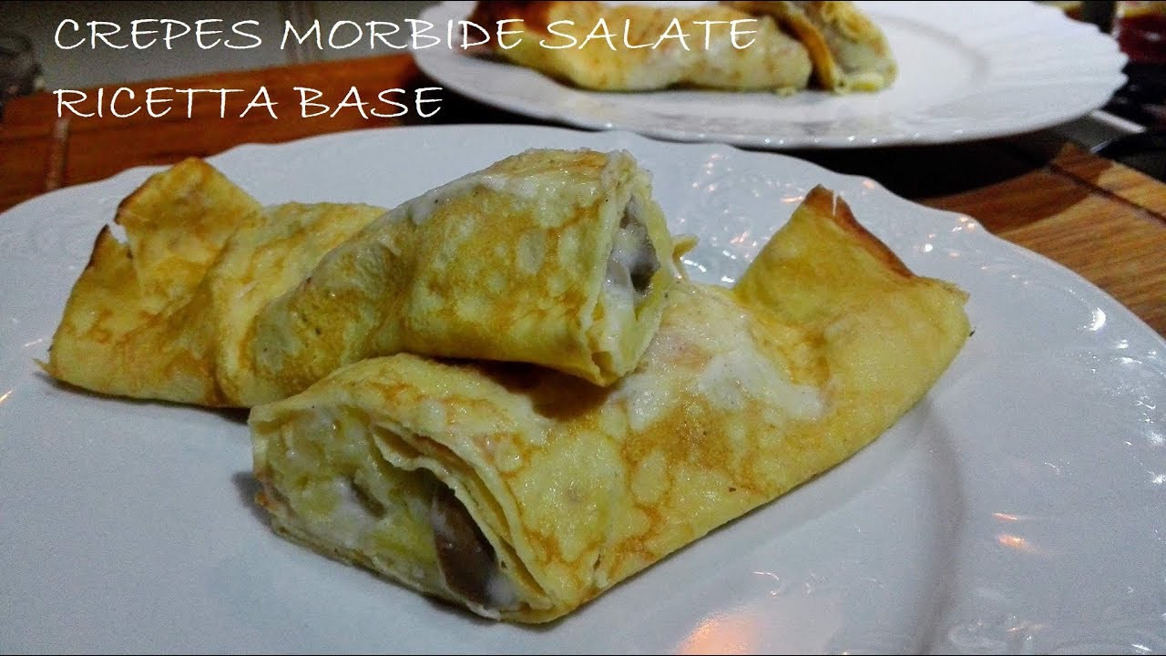 Crepes salate ricette base