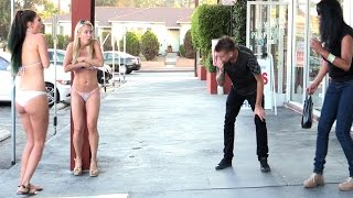 Blowing Girls | Funny Prank Videos | Clothes Off Prank | Funny 2015