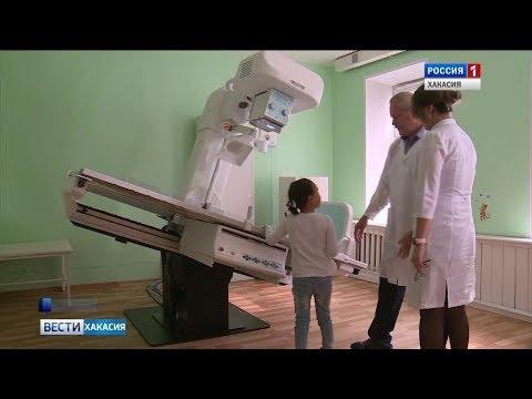 В республиканской больнице начал работать новый рентген для детей. 19.09.2019