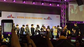 180929 (FANCAM) Hi-Touch with Stray kids - (M&G) KCON 2018 THAILAND