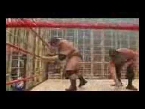 Batista vs The Great Khali No Mercy 2007...