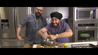Jusreign X Ricks Good Eats • grilled Chilli Chicken/paneer And Thai Mango Salad