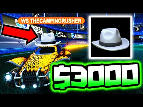 WHITE HAT Auction: I BID $3000 FOR THIS ITEM!! ( Rocket League )