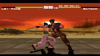 PS1 - Dead or Alive - Leifang Playthrough + Costumes [4K:60FPS]