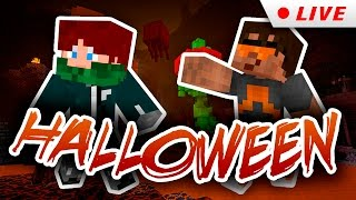 Minecraft Halloween - RedCrafting Stream