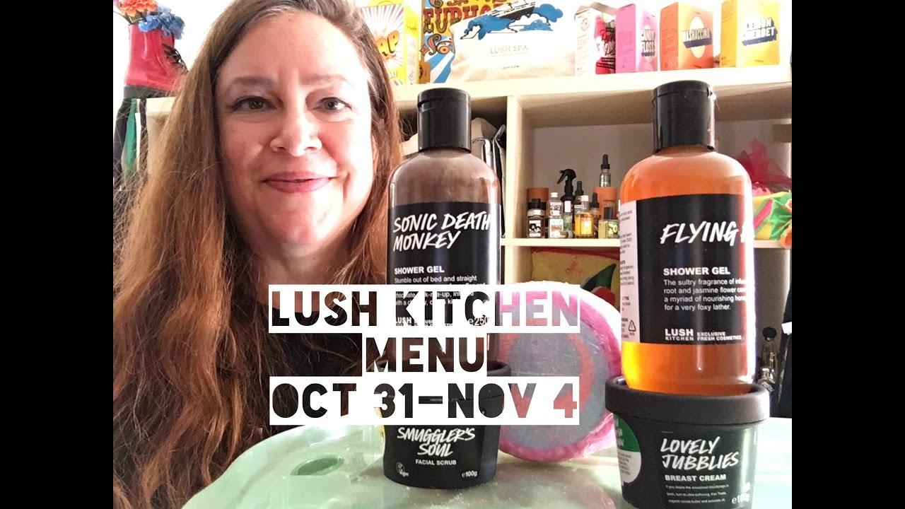 Lush Kitchen Menu Oct 31-Nov 4 Preview - YouTube
