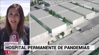 La presidenta Isabel Díaz Ayuso anuncia la construcción de un hospital para pandemias
