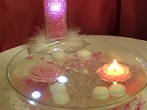 Surroundings Candle Centerpieces Fairy Berries Youtube