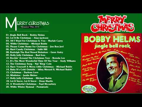 Bobby Helms Jingle Bell Rock - Bobby Helms Christmas Album - Country Christmas Songs 2019