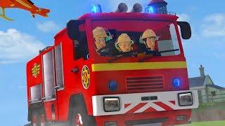 Fireman Sam New Episodes | Great Danger for Fireman Sam! - Best Team Rescues 🔥 Cartoons for Children
