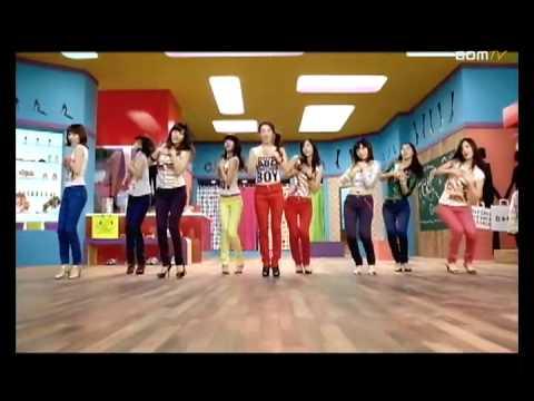 소녀시대 / SNSD / Girls' Generation - Gee MV (Dance Version)