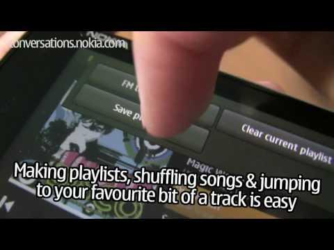 Nokia N900 -  Music player e Internet radio