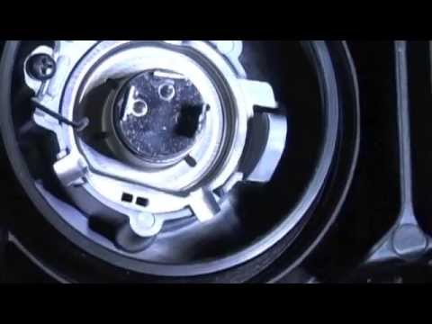 Headlight Halogen Bulb Replacement MicBergsma - YouTube