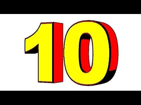 Cartoon countdown 10 9 8 7 6 5 4 3 2 1 -  Sound effects