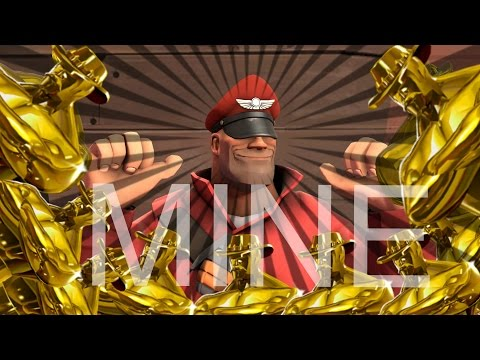 The Mine Song except it's the Soldier from Team Fortress 2 singing it and its SFM