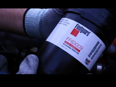 Fleetguard FF63009 Fuel Filter Service