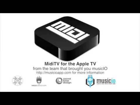 MidiTV for the Apple TV