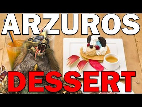 Monster Hunter Recipes - Arzuros Dessert