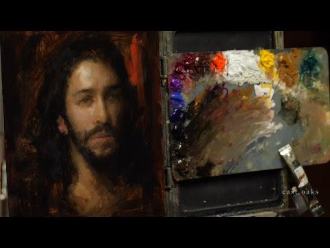Portrait Painting Livestream Session 3