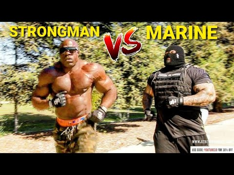Strongest Men VS US Marine Corps Combat Fitness Test
