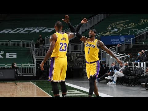Lakers go deep: Five takeaways from victory over the Bucks
