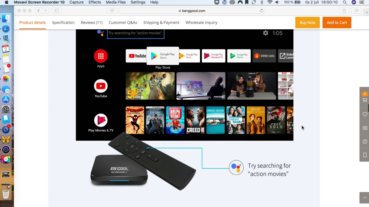 Mecool KM9 Pro Android Tv Box Review