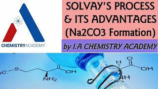 Ammonium Soda Solvay Process and Its Advantages |Preparation of NaHCO3 and Na2CO3|