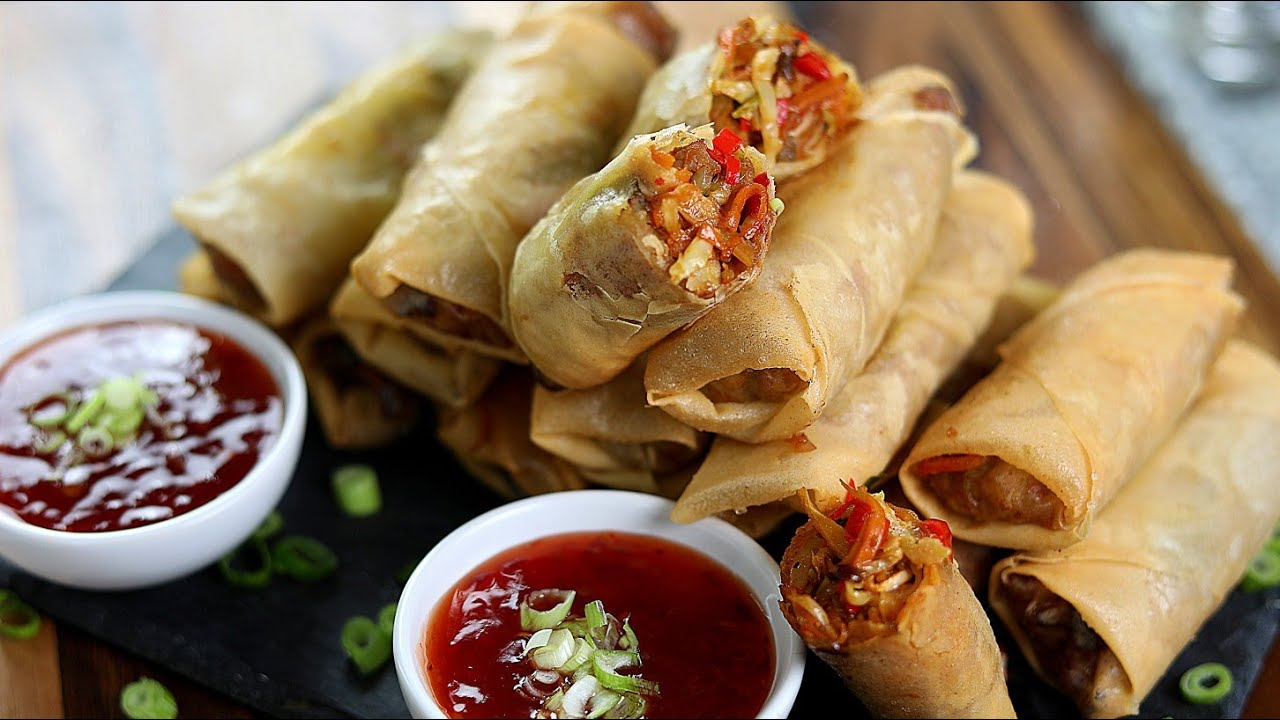 Download PERFECT CHICKEN SPRING ROLLS - EASY SPRING ROLL WRAPPER : SISI JEMIMAH