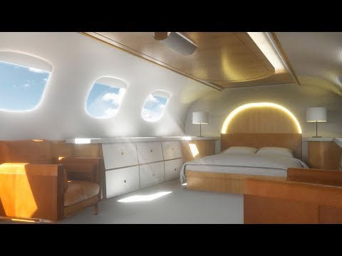 Private Jet Airplane Sounds White Noise | Sleep, Study, Focus 10 Hours