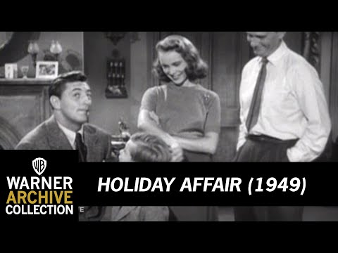 Holiday Affair (1949) –  I'm Not Your Son