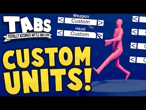TABS - WE CAN MAKE CUSTOM UNITS! + New...