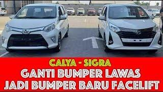 Ganti Bumper Calya Sigra Lama Jadi Facelift Emang Bisa Youtube