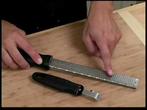 Cooking Tips : How to Use a Zester
