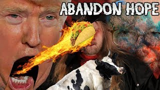 CHOCOLATE MILK COWS -  VIOLENT LIBS - HOMUSEXOO MONTH - TJ QUIZ FAIL - ABANDON HOPE