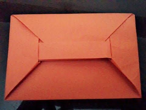 Easy Origami Envelope ll DIY Paper Envelope ll Envelope Series #4