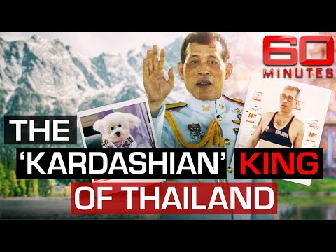 Inside the life of the Thai King who swapped his crown for a crop top | 60 Minutes Australia