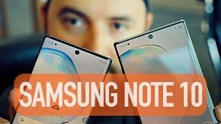 Samsung Galaxy Note 10 и Note 10+. Первый взгляд!