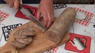 Холодная колбаса или домашняя ветчина !