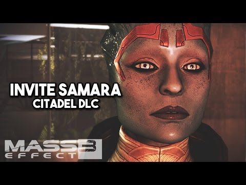 Mass Effect 3: Citadel DLC: Invite Samara to Apartment
