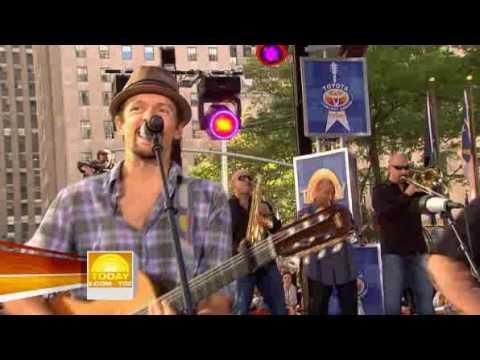 Jason Mraz - I'm Yours Live on TODAY SHOW