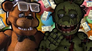 "SPRINGTRAP REACTS TO: Freddy Fazbear and Friends - ""Fazbear Lottery"" (Ft. EthGoesBOOM)"