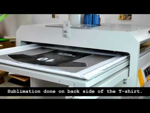 Epson surecolor sc f6070 digital dye sublimation printer for T shirt printing for non profit organizations