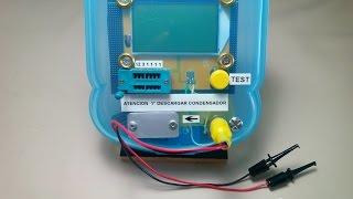 MEJORA EN CABLE TEST - COMPROBADOR MULTICOMPONENTES ESR Meter 12864 LCD