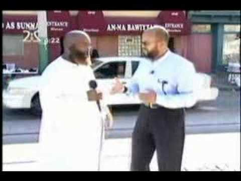 Saudi TV Ch 2 Islam In America Germantown PA Masjid Pt1